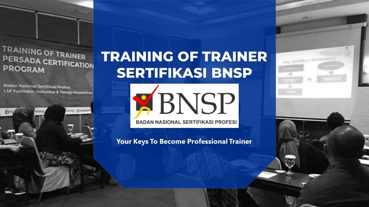 persada training sertifikasi bnsp